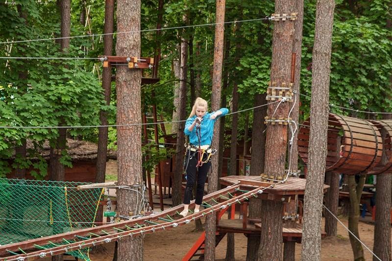 חופשה משפחתית בליטא: פארק החבלים בדרוסקינינקאי