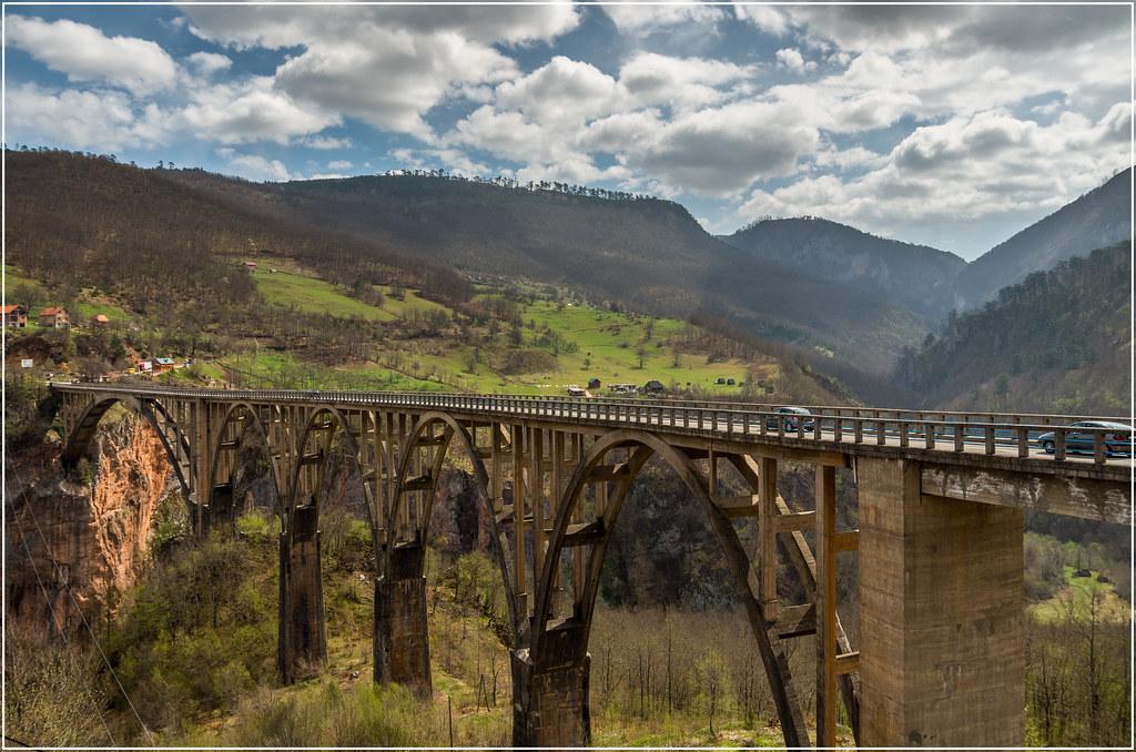 מונטנגרו הגשר של קניון טארה
