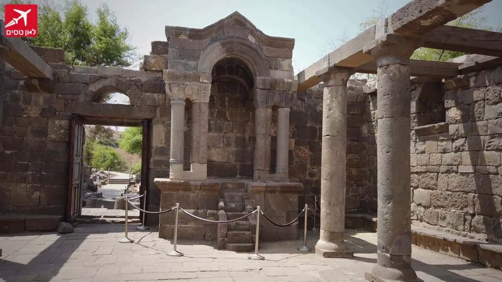 בית הכנסת עין קשתות רמת הגולן