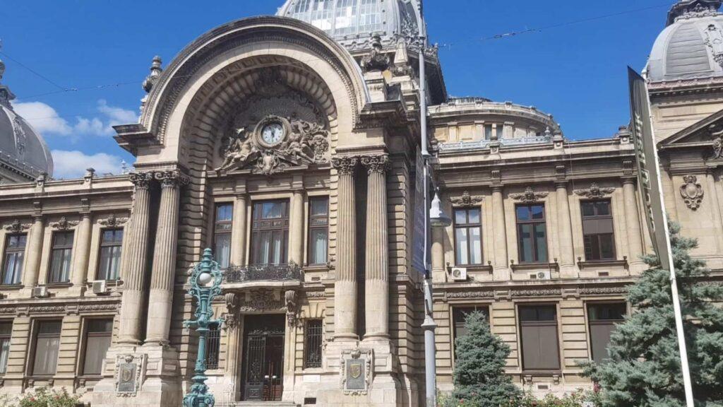 בניין הבנק הראשון של רומניה בוקרשט