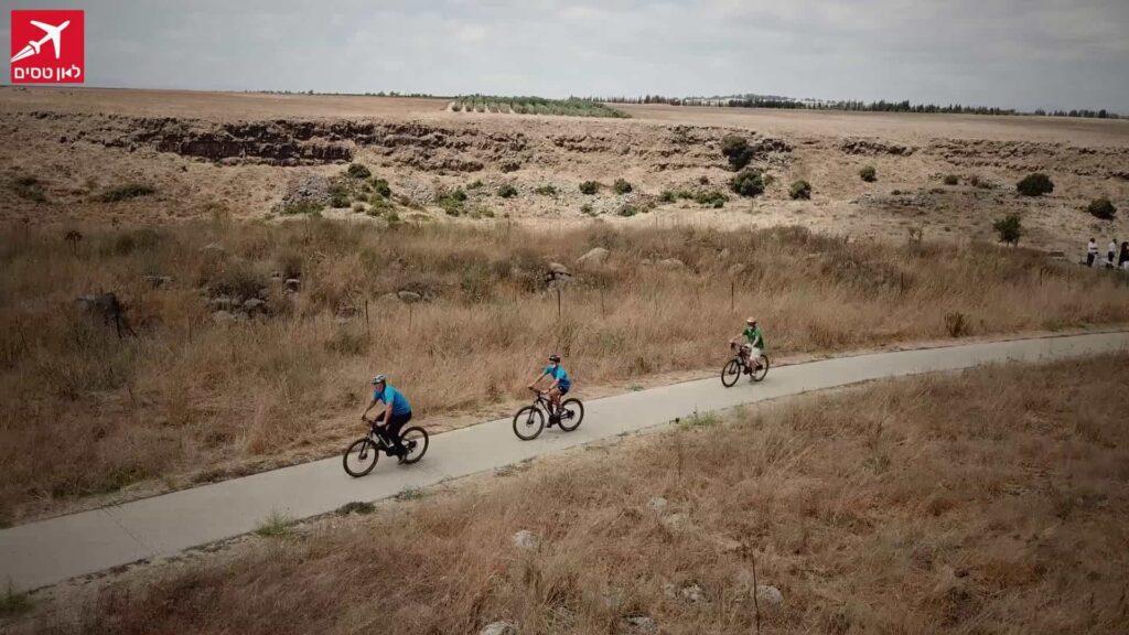 טיול אופניים ברמת הגולן