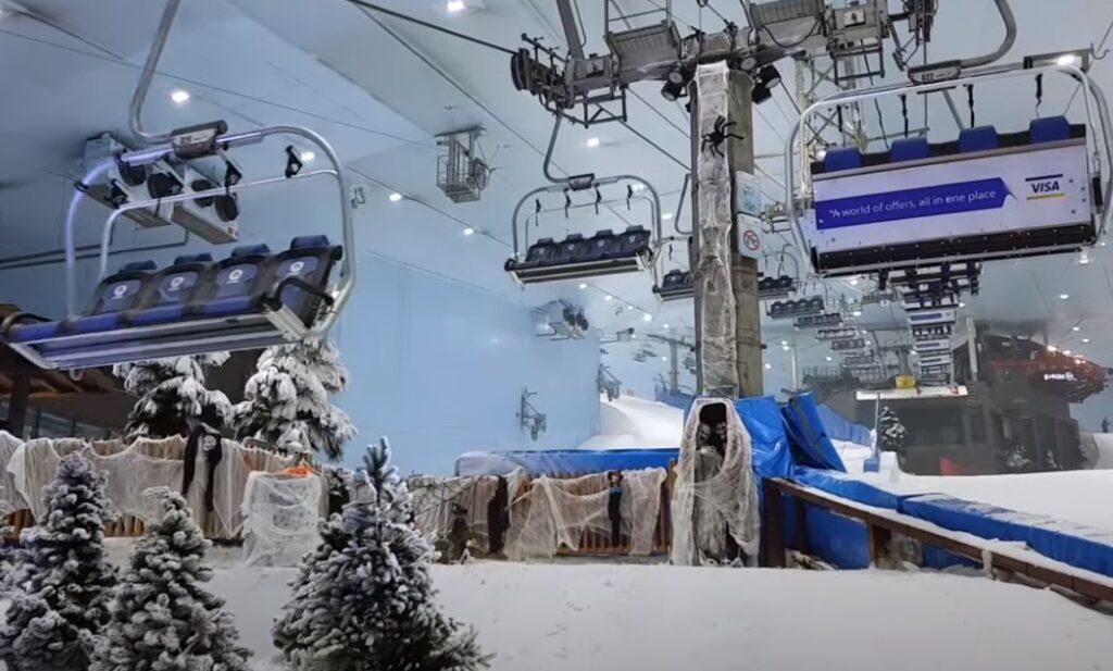 סקי בקניון האמירויות דובאי