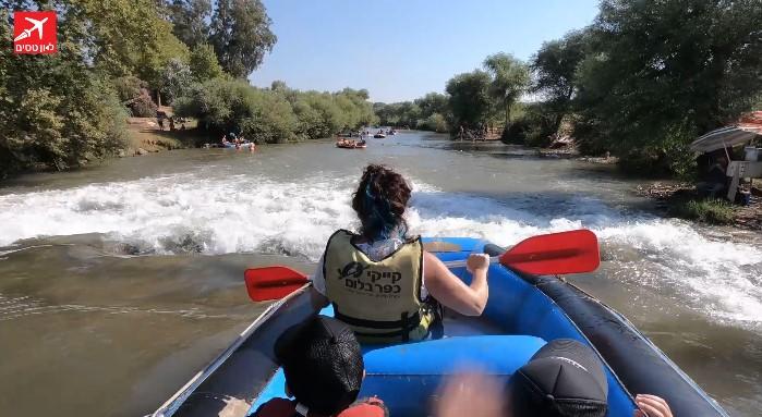 מסלולי מים בצפון ראפטינג בירדן