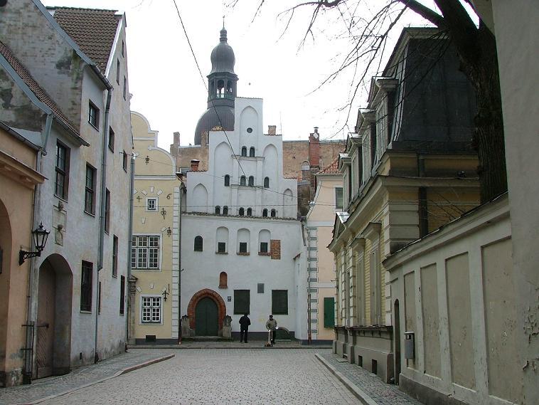 העיר העתיקה, ריגה לטביה