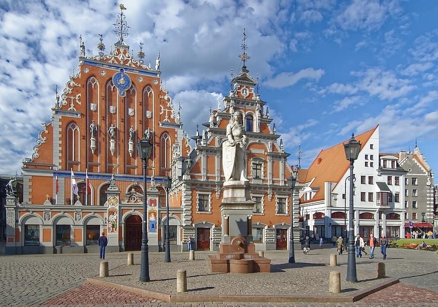 כיכר העירייה של ריגה