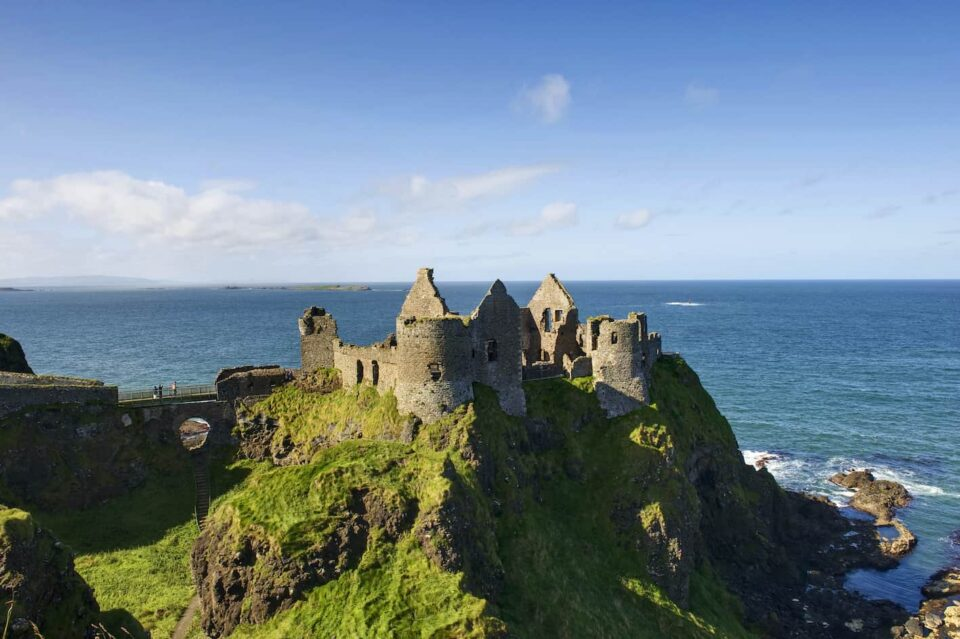 Lead Dunluce Castle, Co. Antrim אירלנד