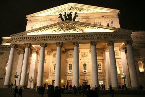 תיאטרון בולשוי המפורסם במוסקבה